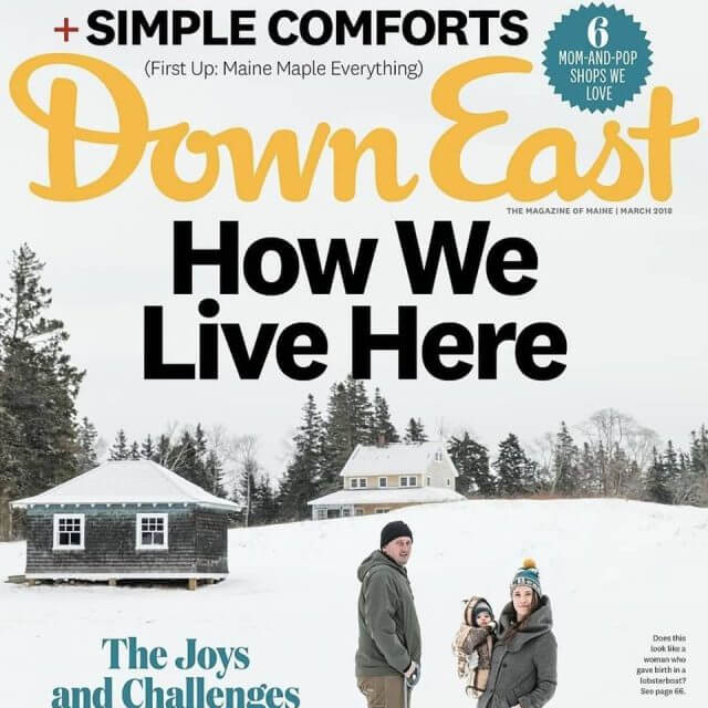Another mention in The Downeast Magazine